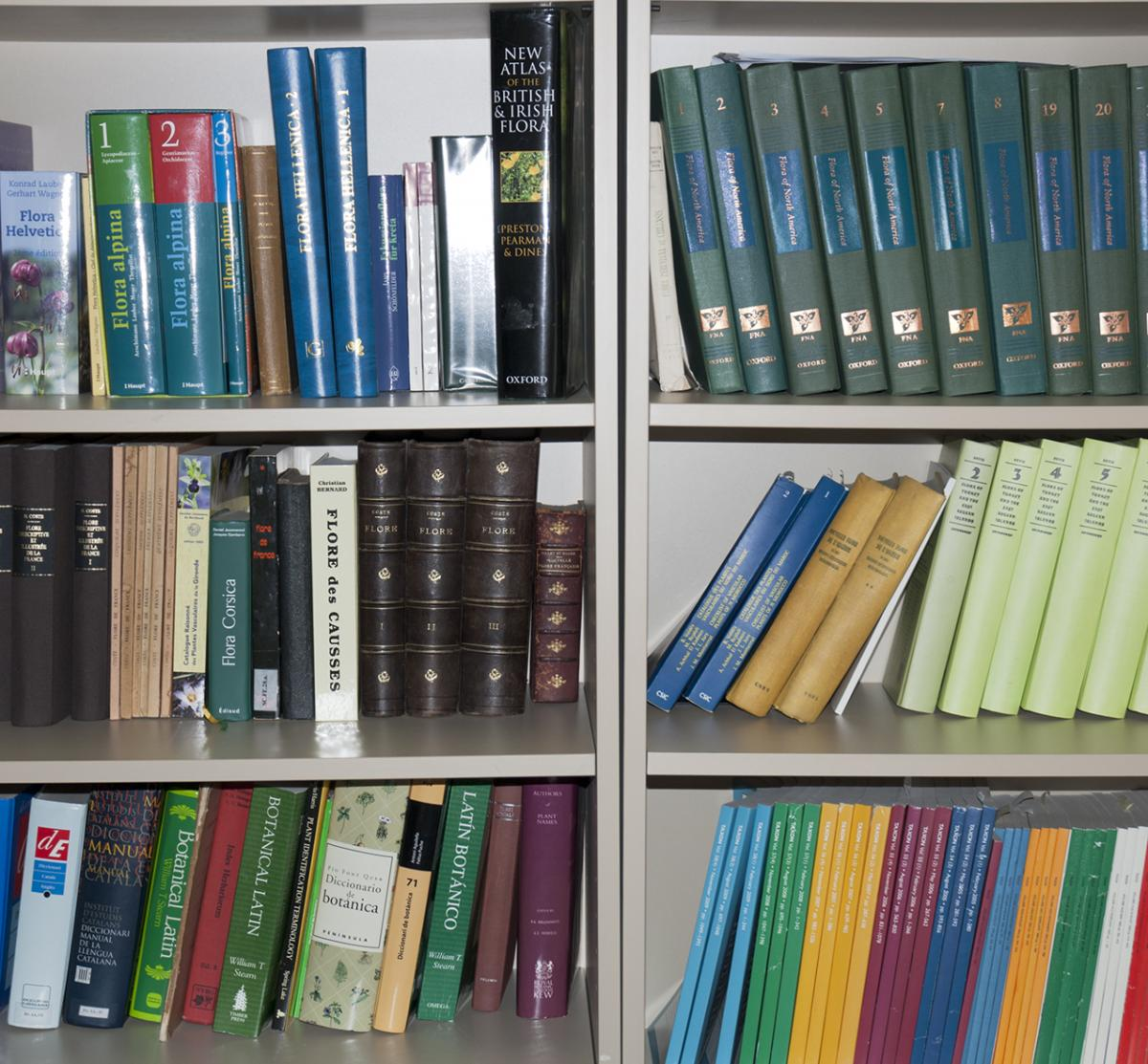 Bibliographic resources on plant biodiversity