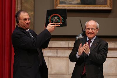 Simon A. Levin. Galeria de premiats. Premi Ramon Margalef d'Ecologia. Generalitat de Catalunya