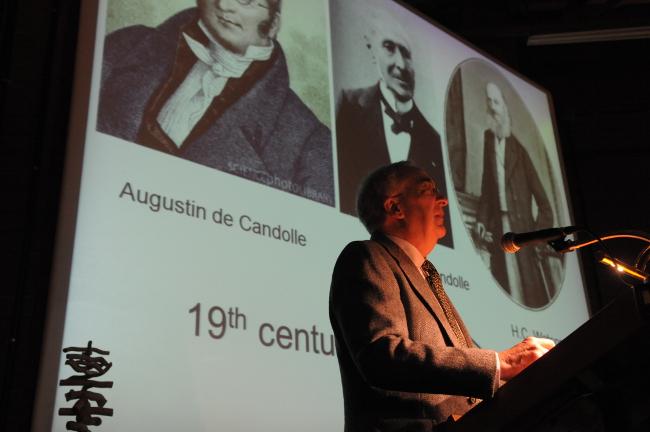 Daniel Simberloff a la Facultat de Biologia. © J. M. Rué, Universitat de Barcelona