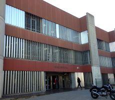 Fachada del CRAI Biblioteca de Bellas Artes