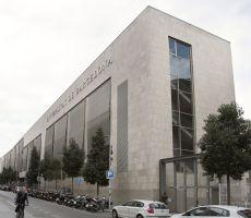 Façana del CRAI Biblioteca de Filosofia, Geografia i Història