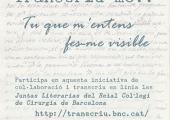 Projecte Transcriu-me