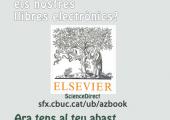 promoció dels nous llibres electrònics d'Elsevier ScienceDirect
