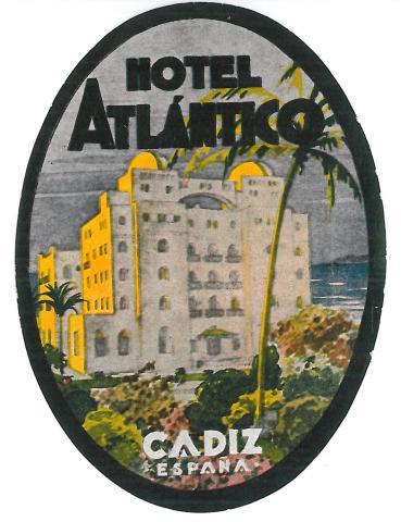 59. Un recuerdo del paso de los cruceristas por Cádiz.