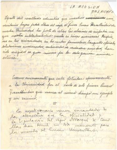 88. A la vuelta, G. Díaz-Plaja y C. Taboada preparan, a dos manos y en dos lenguas, una crónica del viaje.