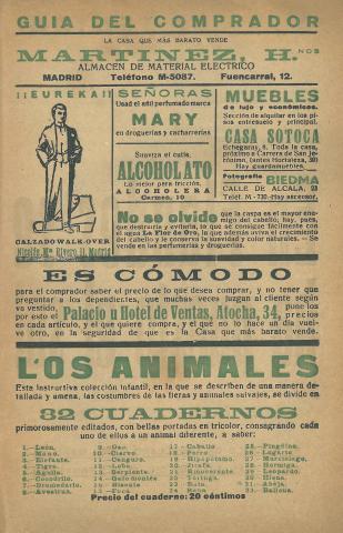 La Novela Corta, 203. Novembre 1919