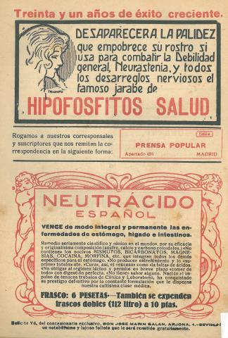 La Novela Corta, 307. Octubre 1921