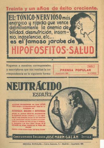 La Novela Corta, 285. Maig 1921