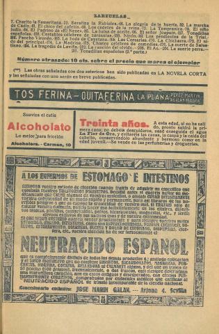 La Novela Corta, 284. Maig 1921