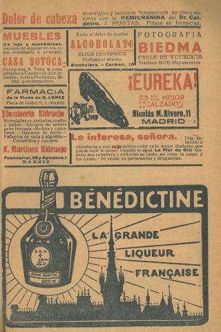 La Novela Corta, 261. Desembre 1920