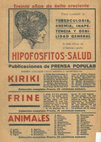 La Novela Corta, 258. Novembre 1920