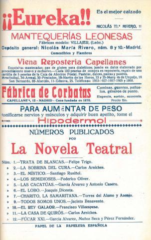 La Novela Teatral