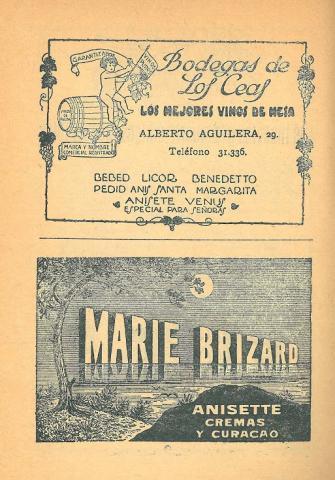 Los Novelistas, 13. Juny 1928