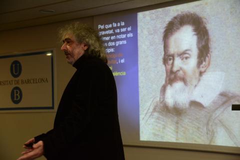 Inauguració exposició Cent anys de la relativitat general. Conferència de J. M. Martín Senovilla