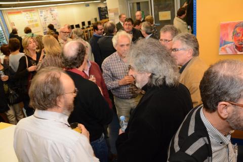 Inauguració exposició Cent anys de la relativitat general