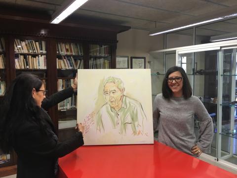 Homenatge a Jordi Sabater Pi en el 50è aniversari del bateig de Floquet de neu a National Geographic