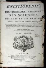 Encyclopédie ou Dictionnaire raisonné