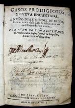 Piña, Juan de, 1566?-1643. Casos prodigiosos