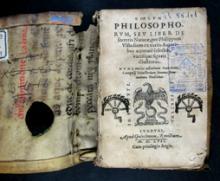 Ulstadius, Philippus. Coelvm philosophorvm