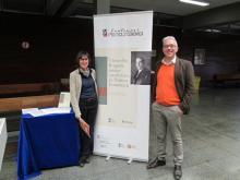 Aurèlia Mañé (Universitat de Barcelona) i  Antonio Sánchez Andrés (Universitat de València)
