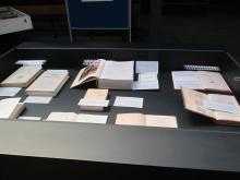 Exposició Cinc segles vestíbul