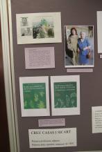Documentació sobre la Creu Casas, primera professora adjunta de la Facultat