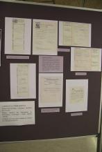 Documentació acadèmica de la Carmen de la Torre, primera catedràtica de la Facultat