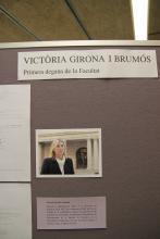 Victòria Girona, primera degana de la Facultat