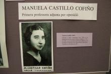 Manuela Castillo, primera professora adjunta per oposició de la Facultat