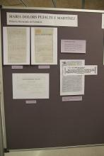 Documentació acadèmica de Maria Dolors Pujalte, primera llicenciada en Farmàcia