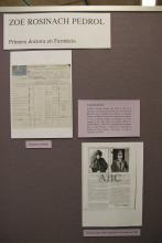 Documentació acadèmica de Zoe Rosinach, primera doctora en Farmàcia a l'estat espanyol