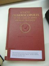 Farmacopea de la Unió de Repúbliques Socialistes Soviètiques. Extractes de la 8a ed.