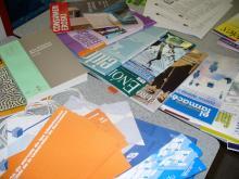 Algunes revistes exposades