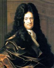 Francke, Christoph Bernhard. Portrait of Gottfried Leibniz (1646-1716)