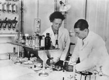 Irene i Fréderic Joliot-Curie