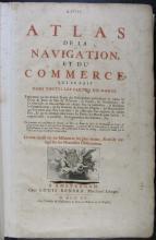 Atlas de la navigation et du commerce qui se fait dans toutes les parties du monde : ...