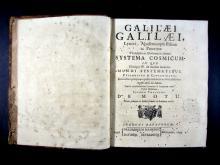 Galilei, Galileo, 1564-1642. Galilaei Galilaei ... Systema cosmicum ...