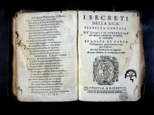 Cortese, Isabella, S. XVI. I Secreti