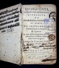Tencke, Jérôme, m. 1687. Instrumenta curationis morborum,...