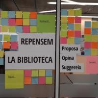 Repensem la biblioteca, acció participativa per conèixer l'opinió dels usuaris al CRAI Biblioteca del Campus Bellvitge