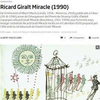 Ricard Giralt Miracle i el CRAI de la UB al diari ARA