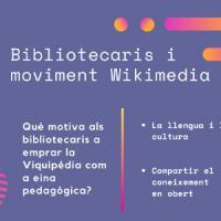 Participació del CRAI Biblioteca d'Informació i Mitjans Audiovisuals en un article sobre el moviment Wikipedia