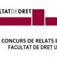 """El CRAI Biblioteca de Dret en el """"II Concurs de Relats breus"""" de la Facultat de Dret"""