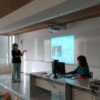 El CRAI Biblioteca de Dret a les sessions informatives a l'alumnat de nou accés de la Facultat de Dret