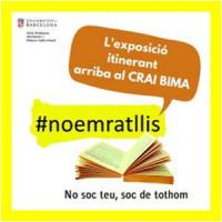#noemratllis. La mostra bibliogràfica itinerant ara al CRAI Biblioteca d'Informació i Mitjans Audiovisuals
