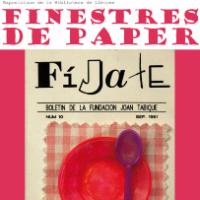 """""""LA FINESTRA DE PAPER. Els llibres tenen el seu destí"""". Exposició al CRAI Biblioteca de Lletres"""