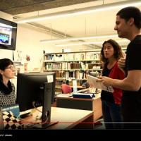 El CRAI Biblioteca d'Informació i Mitjans Audiovisuals, escenari d'un TFG de Comunicació Audiovisual