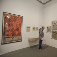 Exposició dedicada a l'artista Helios Gómez amb la participació del CRAI Biblioteca del Pavelló de la República