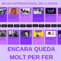 El CRAI Biblioteca d'Economia i Empresa commemora el Dia Internacional de la Dona 2021