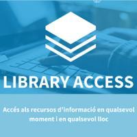 Library Access: accediu de forma fàcil als recursos subscrits per la UB